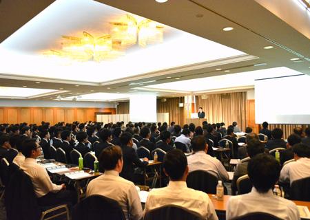 事業発展計画発表会(10月)